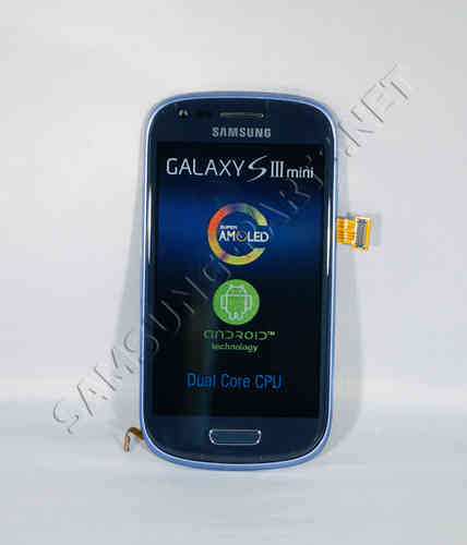 Samsung Galaxy S3 Mini GT-I8190 LCD Screen Blue [Currently not available]