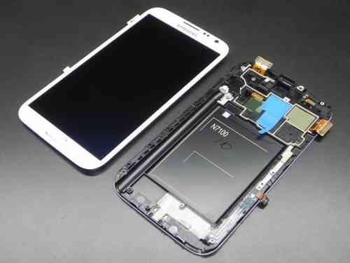 Samsung Galaxy Note 2 GT-N7100 LCD Screen White