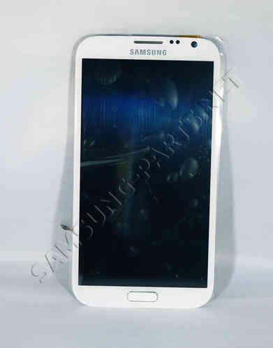 Samsung Galaxy Note 2 GT-N7105 LCD Screen White