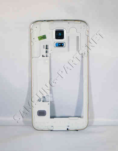 Samsung Galaxy S5 SM-G900F Middle Frame White