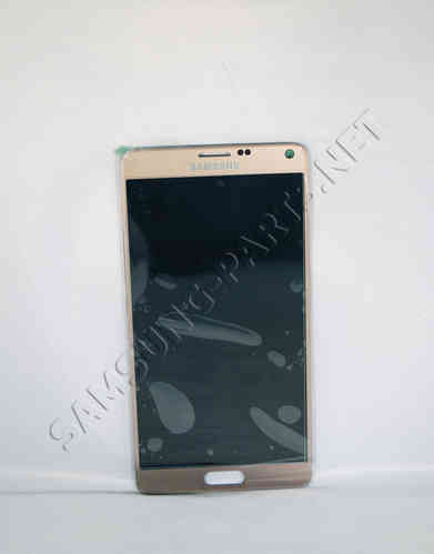 Samsung Galaxy Note 4 SM-N910 LCD Screen Gold