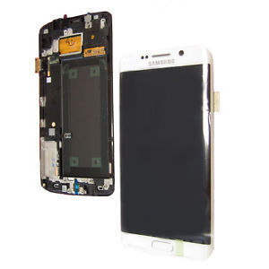 Samsung Galaxy S6 Edge SM-G925F LCD Screen White [Currently not available]