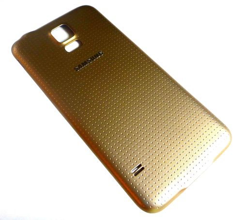 Samsung Galaxy S5 SM-G900F Battery Cover Gold