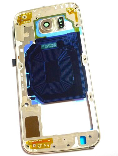 Samsung Galaxy S6 SM-G920F Assy Rear Unit Gold