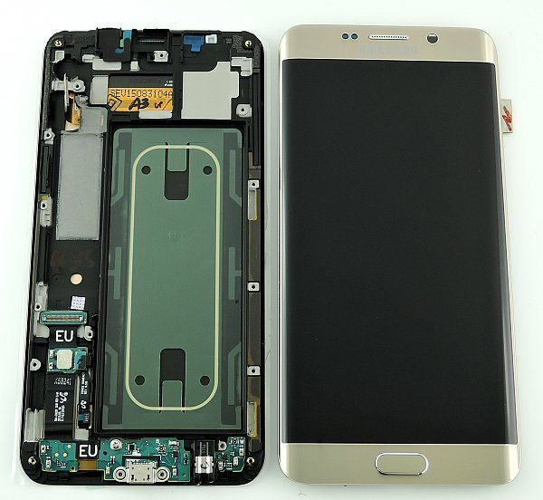 Samsung Galaxy S6 Edge plus SM-G928F LCD Screen Gold
